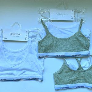 CALVIN KLEIN Girls Crop Bras